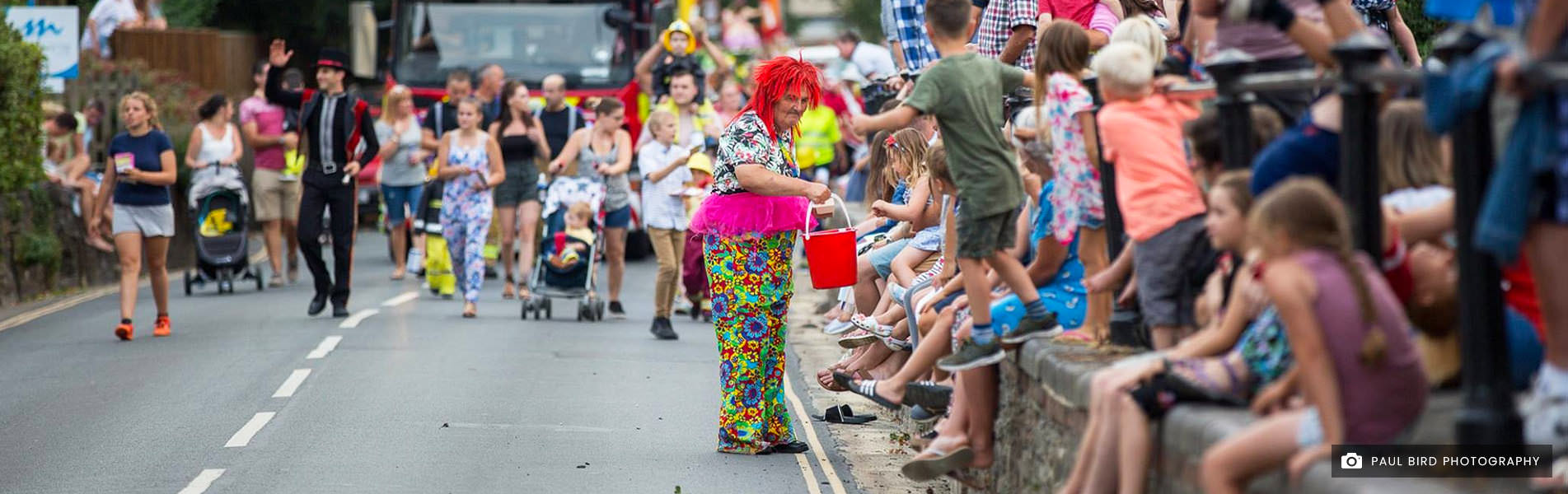 Newport Carnival Isle of Wight Collecting